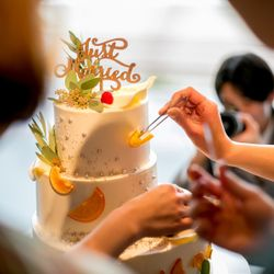 ウェディングケーキの写真 14枚目