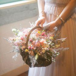 花嫁DIY(ブーケ、ブートニア、ナフキンフラワー)の写真 2枚目