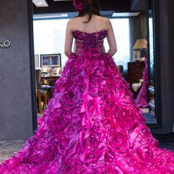 カラードレス試着の写真 3枚目