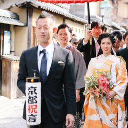 花嫁行列の写真 1枚目