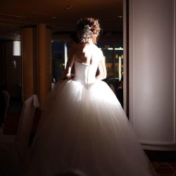 お色直しWDドレスの写真 2枚目