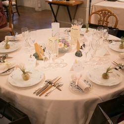 高砂、テーブル装花の写真 1枚目