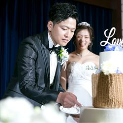 ケーキ入刀・ファーストバイト・サンクスバイトの写真 4枚目