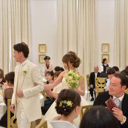 挙式 ウェディングドレスの写真 1枚目