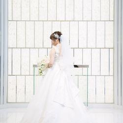 ウェディングドレス、挙式の写真 3枚目
