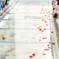 装花(ブーケ、挙式会場、披露宴会場、カラードレス時の生花のヘアアレンジ)の写真 11枚目