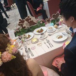 テーブル・装花の写真 4枚目