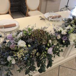 高砂装花、ウェディングケーキの写真 2枚目