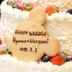 ウエディングケーキ(披露宴)の写真 2枚目