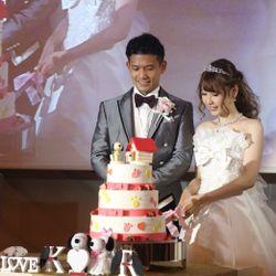 ブーケプルズ・ケーキ入刀の写真 1枚目
