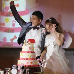 ブーケプルズ・ケーキ入刀の写真 2枚目
