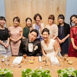 第4章Party①(披露宴前半と披露宴のお料理)の写真 10枚目