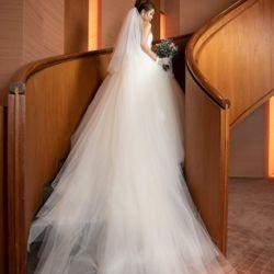 結婚式前のスナップフォトの写真 1枚目