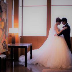 結婚式前のスナップフォトの写真 3枚目