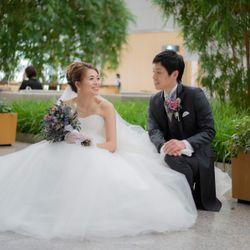 結婚式前のスナップフォトの写真 4枚目