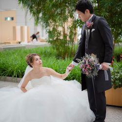 結婚式前のスナップフォトの写真 5枚目