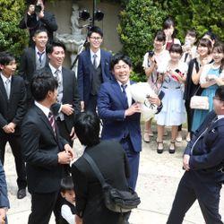 挙式後の写真 1枚目