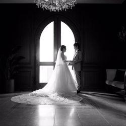 ウエディングドレス前撮りの写真 7枚目