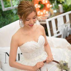 結婚パーティー前撮影の写真 5枚目