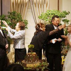 披露宴(白ドレス)の写真 12枚目