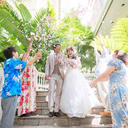 挙式*Hawaiiの写真 1枚目