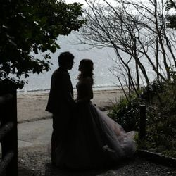 カラードレス前撮りの写真 11枚目