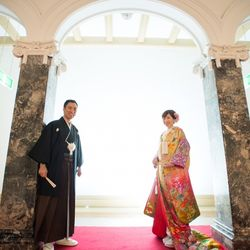結婚式前撮り(山形市の『文翔館』にて)の写真 3枚目