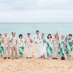 砂浜挙式の写真 2枚目