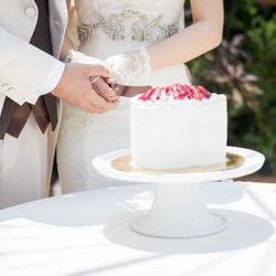ハワイウエディングケーキの写真 4枚目
