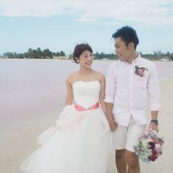 新婚旅行:ピンクレイク(メキシコ)の写真 3枚目