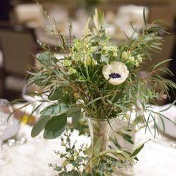テーブル 装花 高砂の写真 1枚目