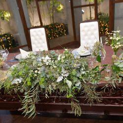 テーブル 装花 高砂の写真 4枚目