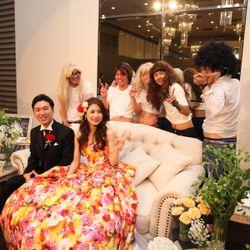 余興 踊る花嫁の写真 4枚目