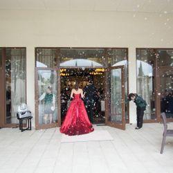 赤ドレスの写真 1枚目