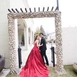 赤ドレスの写真 3枚目
