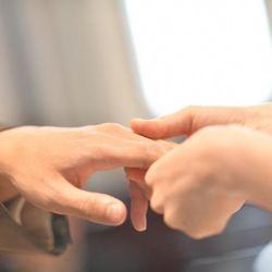 挙式 #人前式 #誓いの言葉 #ユニティーキャンドル #誓いのキス #リングブック #ハリーポッターの写真 1枚目
