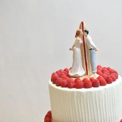 ケーキカット&ケーキバイトの写真 1枚目