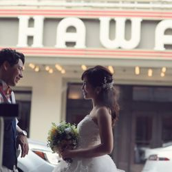 ハワイ前撮りの写真 4枚目
