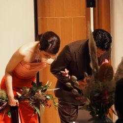 披露宴:カラードレスの写真 2枚目