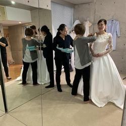 オーダーウェディングドレスの写真 2枚目