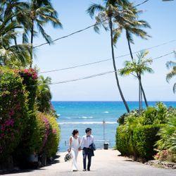 ハワイ前撮りの写真 1枚目