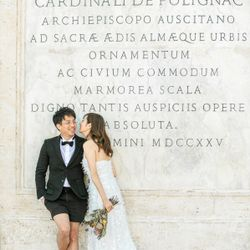 洋装前撮り@イタリアの写真 1枚目