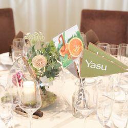 高砂・ゲストテーブルの写真 2枚目