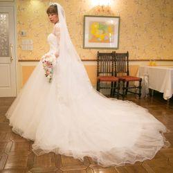 ドレス、ブライダルヘアの写真 14枚目