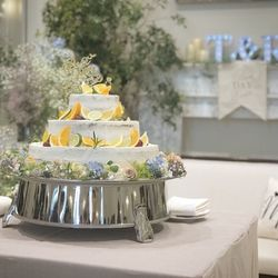料理 ウエディングケーキの写真 7枚目