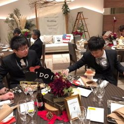 装花.テーブルコーディネートの写真 3枚目