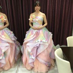 ♡カラードレス試着♡の写真 26枚目