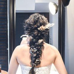 hair makeの写真 1枚目