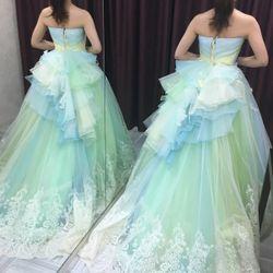 ♡カラードレス試着♡の写真 9枚目
