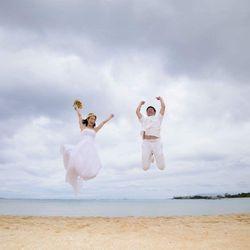 ハワイ前撮りの写真 14枚目